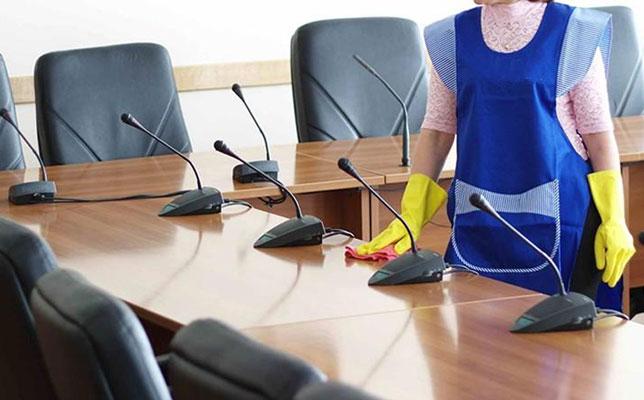 Las diferentes necesidades de limpieza en cada oficina